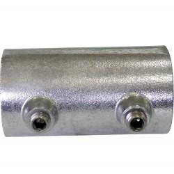 Inserción empalme aluminio tubo
