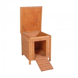 Gallinero-ponedero madera Lisboa