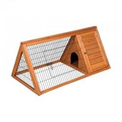 Caseta de madera gallinas-conejos Toscana