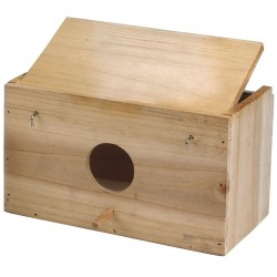 Nido de madera para pájaros nº3