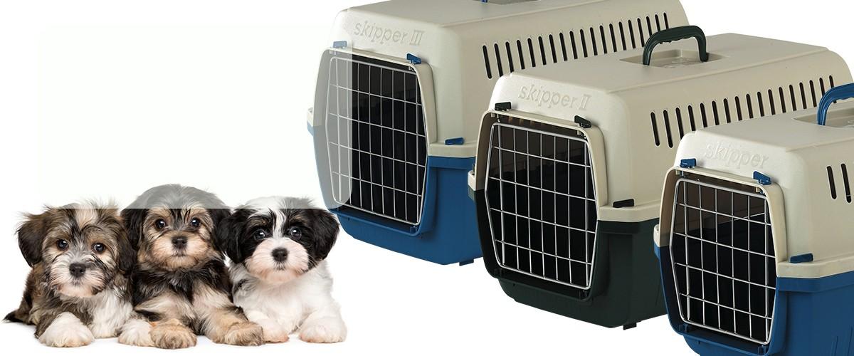 Transportines Skipper para cachorros